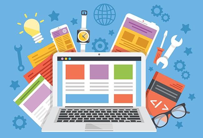 مصمم مواقع انترنت